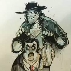 Undertaker and Pallbearer at #nycc artist alley booth BB16