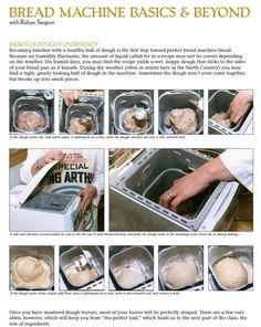 Just what I needed for knowing the basics of bread machine recipes. This article has been quite useful!!