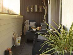 Une terrasse sur un balcon   Leroy Merlin