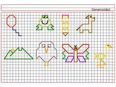 Resultado de imagen para cuadricula dibujo animales