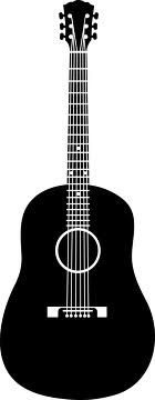 guitar silhouette - Google Search