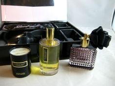 Sweet and Sexy - Naughty Delish... Love the Blindfold... xox  Sexy Victoria Secret Scandalous Fragrance Gift Set Candle Blindfold New in Box #VictoriaSecret