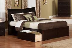 Soho King Storage Sleigh Bed