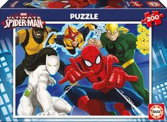 Educa Borras Puzzle Ultimate Spider-Man (200 Pieces): Amazon.co.uk: Toys &…