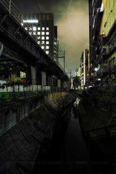 the backside of Shibuya.Tokyo