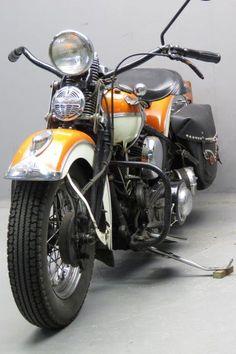 Harley Davidson 1939 U 1200cc 2 cyl sv  2509