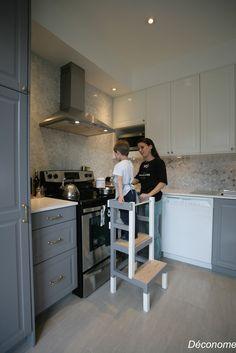 Kitchens cuisines on pinterest cuisine grey kitchens - Fabriquer une cuisine enfant ...