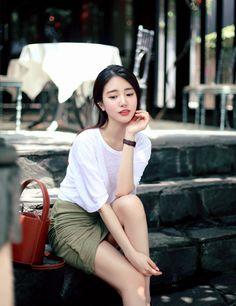 milkcocoa in 2019 Korean Beauty Girls, Sexy Asian Girls, Asian Beauty, Cute Japanese Girl, Cute Korean Girl, Beautiful Asian Women, Beautiful Girl Image, Asian Fashion, Girl Fashion