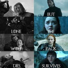House Stark, Game of Thrones.