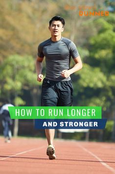 If you are a new runner, you might be wondering how to run longer. There are no shortcuts but we've got several ways to increase your running distance. Read on to find our best tips for making your runs longer - and to feel better doing it! Running Routine, Running Plan, Running Workouts, Running Tips, Mens Running, Trail Running, Race Training, Running Training, Triathlon Training
