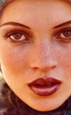 Kate Moss photographed by Ian Thomas