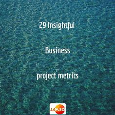 Project management should be a continuous improvement function for your business challenges.  Here are 29 performance metrics specific to providing new insights for your projects.  Generate improved overviews  make better decisions  support your teams and business development.  No matter how happy  you are with project performance there are still metrics that will provide better informed leadership insights.