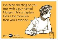 Captain Morgan is my wingman