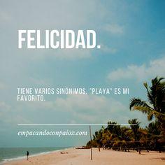 Las 8 Mejores Imágenes De Frases De La Playa En 2019