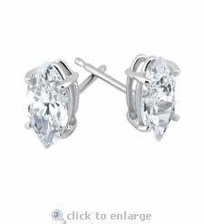 marquise cut earrings