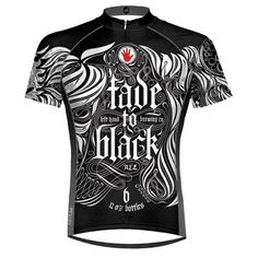 Left Hand Brewing Fade to Black Beer Cycling Jersey by Primal Wear with DeFeet Black Flame Socks Cycling Wear, Bike Wear, Cycling Shoes, Cycling Outfit, Men's Cycling, Cycling Clothing, Fade To Black, Black Men, Road Bike Gear