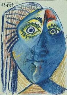 Pablo Picasso - Head of Woman ✏✏✏✏✏✏✏✏✏✏✏✏✏✏✏✏ ARTS ET PEINTURES - ARTS AND PAINTINGS ☞ https://fr.pinterest.com/JeanfbJf/pin-peintres-painters-index/ ══════════════════════ Gᴀʙʏ﹣Fᴇ́ᴇʀɪᴇ ﹕☞ http://www.alittlemarket.com/boutique/gaby_feerie-132444.html ✏✏✏✏✏✏✏✏✏✏✏✏✏✏✏✏
