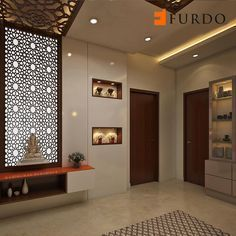 Marvelous Cool Tips: False Ceiling Living Room Apartments false ceiling reception living rooms.False Ceiling Living Room Apartments false ceiling bedroom other.Wooden False Ceiling Home. Design Entrée, Door Design, House Design, Mandir Design, Pooja Room Design, False Ceiling Living Room, Bedroom Ceiling, Puja Room, Colored Ceiling