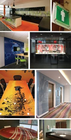 and transforming the spaces they are in.even glass meeting tables Interior Office, Office Interiors, Wall Design, House Design, Meeting Table, Lobbies, Public Spaces, Workplace, Home Goods