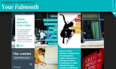 A new age for student recruitment? University College Falmouth's interactive prospectus