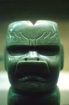Why were Pre-Columbian Societies so Drawn to Jade?: Olmec Carved Figurine, Jadeite, Early to Middle Formative Period