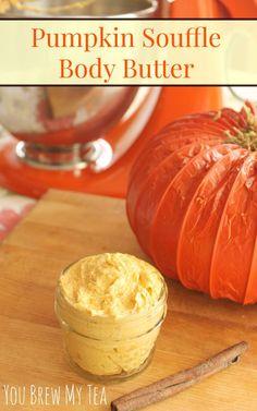 Pumpkin Souffle Body Butter   Homemade Beauty Products   Homemade Pumpkin Body Butter   DIY Body Butter   Whipped Body Butter