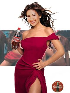 Selena for Coca cola Selena Quintanilla Perez, Corpus Christi, Selena And Chris, Selena Selena, Coca Cola, Selena Mexican, Divas, Selena Pictures, The Originals