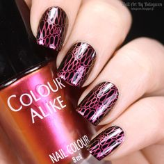 Nail Art by Belegwen: A England Camelot and Colour Alike Venus