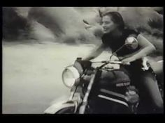 """Motorcycle Girl  vintage footage 30ties """"Because ladies were born to ride. And motorcycles were made for riding."""""""