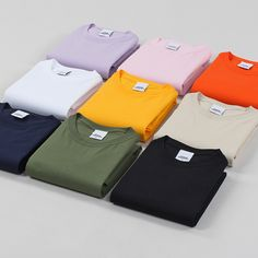 7defe4cecbb Urban Industry Premium Basics Colour T-Shirts now in stock Abiti Urbani