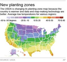 New Usda Map To Reflect Global Climate Change
