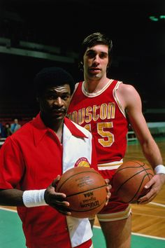 Calvin Murphy & Rudy Tomjanovich.    For all the latest Houston Rockets news and updates, visit www.rockets.com.