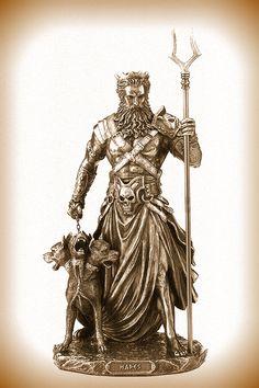 ☂ Hades (Άδης) god of the underworld Hades Greek Mythology, Greece Mythology, Greek Mythology Tattoos, Greek And Roman Mythology, Greek Gods, Hades Tattoo, Medusa Tattoo, Hades Underworld, Hades And Persephone
