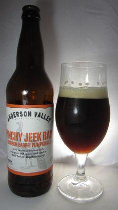 Anderson Valley Pinchy Jeek Pumpkin Ale
