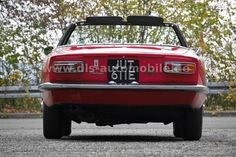 Herando - Maserati Mistrale Spyder, one of 12 RHD Ferrari California, Classic Sports Cars, Maserati, Autos, Convertible