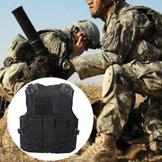 Einsatzweste Taktische Weste Kampfmittelweste Modular Tactical Combat Vest GOOD~