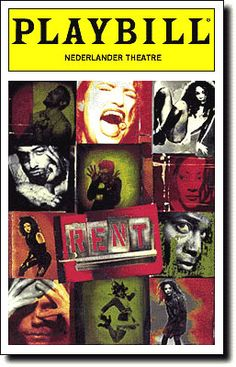 Rent. The ONLY one of my favorite #Broadway shows I haven't seen live. It's already closed on Broadway, which makes me incredibly sad.