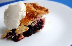 Blueberry pie - torta de mirtilos
