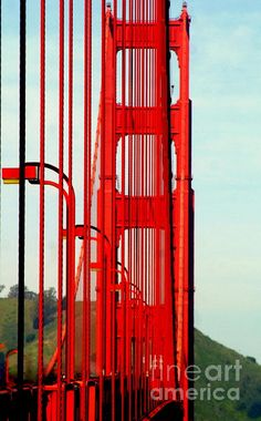 San Francisco California Golden Gate Bridge Symphony by Michael Hoard
