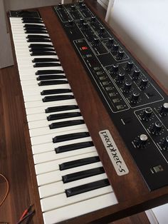 MATRIXSYNTH: Sequential Circuits Prophet 5 3.3 SN 5908 with MID...