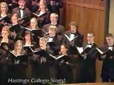 Sing a Song of Sixpence (The Hastings College Choir) Reminds me of choir... such a fun song to sing!