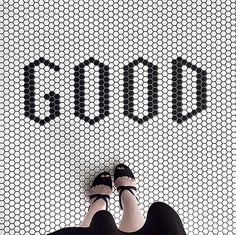 Those with a penchant for the Instagram hashtag #ihavethisthingwithfloors will like this... Slogan tiles are the latest trend in flooring, marrying the old charm of floor tiles with a modern, tongue-in-cheek wit, and ever since we stepped foot inside House Curious – the stunning London-based shoot and event space – we've fallen for the look.