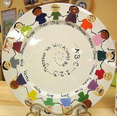 School Platter by Color Me Mine Enterprises, Inc., via Flickr