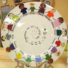 School Platter by Color Me Mine Enterprises, Inc., via Flickr