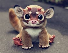 Santani, a 23-year-old girl from Moscow, Russia, creates these ultra-realistic fantasy animal dolls. The creatures are a mix of creepy, cute and amazing. The good news is that you can buy one of these if you contact the artist directly.