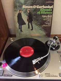 """Simon & Garfunkel - Sounds of Silence  Original 1965 release on Columbia Records.  Stereo """"360 Sound"""""""