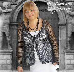 CROCHE DA ANJINHA: casacos em croche