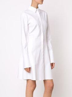 Brock Collection расклешенное платье-рубашка