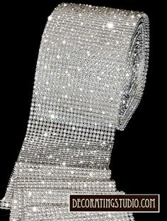 This is the thick rhinestone ribbon that I bought and can get more of.