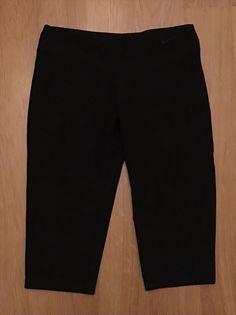 new style 9ad36 d12bf NIKE Dri-Fit Athletic Yoga Capri Cropped Womens Pants Size Medium M Black  EUC  NIKE  PantsTightsLeggings